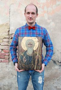 Андрій з іконою