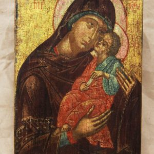 Богородиця Солодке цілування 18 ст.