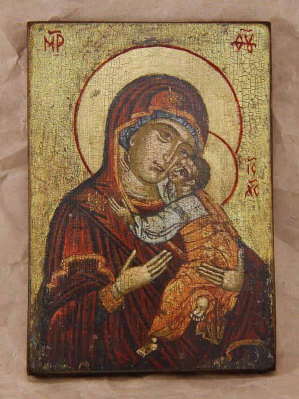 Богородиця Солодке цілування 1600 р.