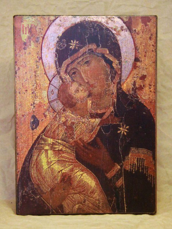 (Б018) Вишгородська (Володимирська) Богородиця 12 ст.