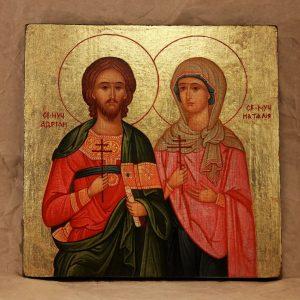 Святі Адріан і Наталія