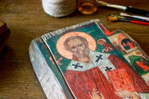 Ікона: Святий Миколай